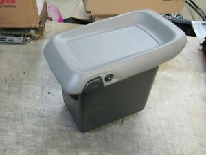 Gmc Yukon Chevy Tahoe Truck Center Console Armrest Lid Top Box Gray 99 02