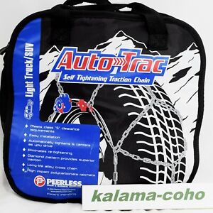 Auto Trac Track 0232605 Tire Snow Chains Self Tightening