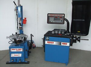 Coats 5060ax Changer 950 1000 Balancer Combo Custom Blue With Warranty