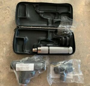 Welch Allyn 3 5v 11820 Panoptic Ophthalmoscope W 23810 Macroview Otoscope Head