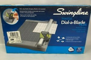 New In Box Swingline Smartcut Dial a blade Rotary Trimmer 12 Cut 4 in 1 Blade
