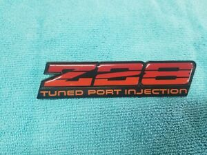 1985 Camaro Z28 Tpi Dash Badge