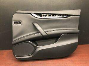 2015 Maserati Ghibli S Q4 Front Right Interior Door Panel Cover Trim Oem