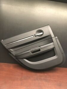 2010 Dodge Charger Srt8 Rear Left Driver Interior Door Panel Trim Cover Oem