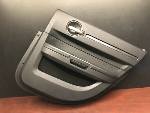 2010 Dodge Charger Srt8 Rear Right Driver Interior Door Panel Trim Cover Oem
