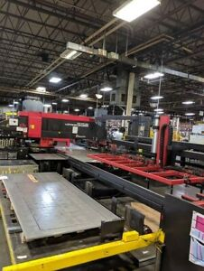 Amada Vipros 558 King Cnc Turret Punch W Cl510 Load unload B39634