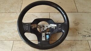 1996 1998 Jeep Grand Cherokee Zj Black Leather Steering Wheel Oem