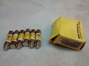 6 New In Box Bussmann Lp cc 8 8 Amp Low Peak Cc Fuse 600v Fast Shipping