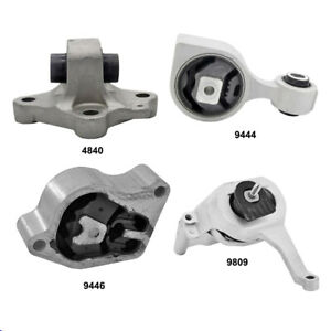 Complete Engine Mount Set 4pcs For Nissan Altima 2 5l 2013 2015 4840 9444 9446