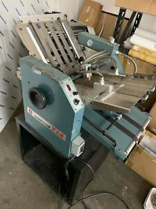Baum 714 Table Top Vacuum air Feed Folder Used One