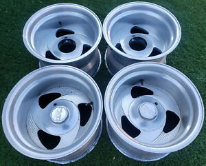 Kmc 15x10 Billet Aluminum Wheels Rims 6 Lug Chevy K5 Toyota Eagle Alloy Boyd