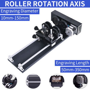 Used Rotary Cnc Attachment Roller Axis Laser Engraver Machine Rotation Axis