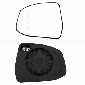 F348 Left Side Car Door Wing Clear Mirror Glass Heated For Ford Focus Mondeo