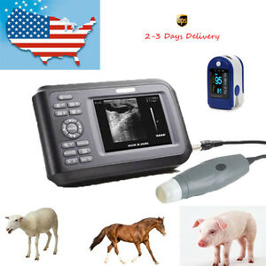 5 5 Inch Ultrasound Scanner For Pet Veterinary Livestock Preganany battery box