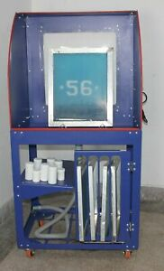 Intbuying Silk Screen Printing Cabinet For Washing The Screen Printing Plate New