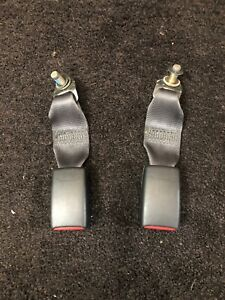 1997 2001 Honda Prelude Rear Seat Belt Buckle Receiver Both Oem