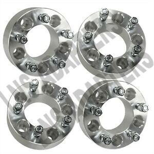 4 Pcs Wheel Spacers 2 5x5 6061 T6 6061 For Trucks 5x127 Offroad 5 Lug Chevy Gmc