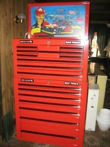 Mechanics Professional Tool Chest By Mac Tools Special Nascar Limited Edition