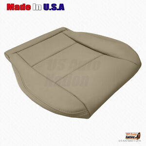 For 1998 To 2004 Toyota Land Cruiser Front Driver Bottom Vinyl Seat Cover In Tan