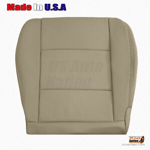 For 1998 To 2004 Toyota Land Cruiser Passenger Bottom Leather Seat Cover In Tan