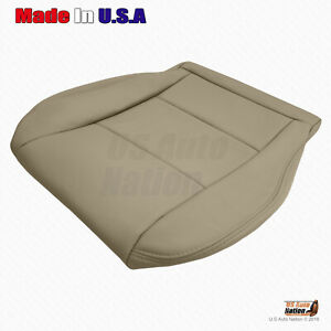 For 1998 2004 Toyota Land Cruiser Front Passenger Bottom Vinyl Seat Cover Tan