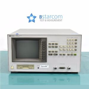 Agilent 4286a Rf Lcr Meter 1 Mhz To 1 Ghz With Test Head