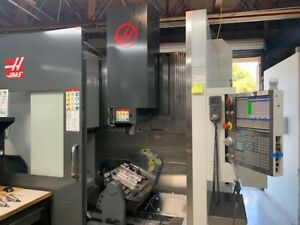 Used 2016 Haas Umc 750ss 5th Axis Cnc Vertical Machining Center Mill Wips Probe