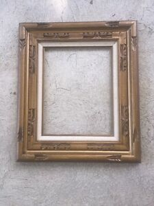 Antique Picture Mirror Frame Pine Wood Ornate Etched 22 X19 New Old Stock