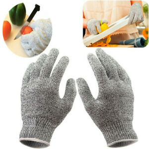 Stainless Steel Wire Metal Mesh Safety Cut Proof Stab Resistant Butcher Gloves