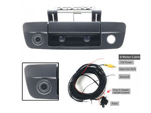 For Dodge Ram 1500 2500 3500 09 17 Tailgate Handle W Back Up Camera And 8m Cable