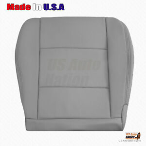 Fits 1998 To 2004 Toyota Land Cruiser Passenger Bottom Leather Seat Cover gray