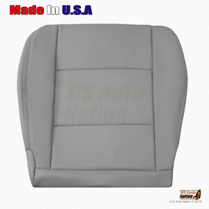 For 1998 2004 Toyota Land Cruiser Driver Bottom Leather Replacement Cover Gray