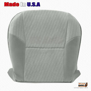 Fits 2010 2011 Toyota Tacoma Driver Bottom Gray Cloth Replacement Seat Cover