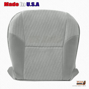 For 2009 2010 Toyota Tacoma Driver Side Bottom Replacement Cloth Seat Cover Gray