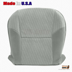 Fits 2009 2011 Toyota Tacoma Passenger Bottom Cloth Seat Replacement Cover Gray