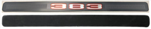 1970 Road Runner And Gtx Back Of Hood 383 Emblem With Backing Plate