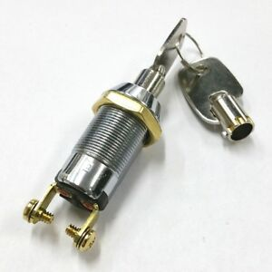 New Philmore 30 10078b Spst On Or Off Position Tubular Barrel Type Key Switch