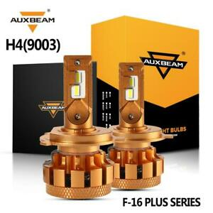 Auxbeam H4 Hb2 70w 7000lm Led Headlight 9003 Bulb Decoder Canbus Car Motorcycle