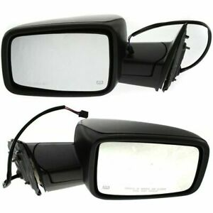 For Dodge Ram Truck 2009 2010 2011 2012 Mirror Power Heated Left
