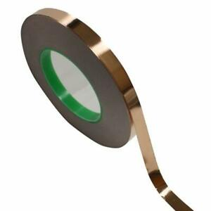 1 2 Inch X 55 Yds Copper Foil Tape 12mm X 50m Emi Shielding Conductive Adhes