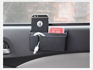 Car Storage Box Organizer Charge Bag Mobile Phone Cradle Holder Large