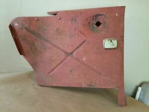 1951 Ford Victoria Convertible Drivers Rear Sail Panel Cover