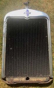 Harrison Chevrolet Radiator And Emblem Grill 1920s 1930s Rat Rod Chevy Vintage