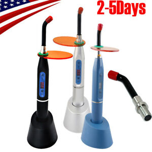 2019 New Dental Led Curing Light Lamp Wireless Cordless Cure 10w tip Optional