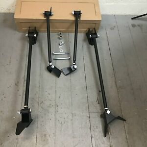 1960 1970 Ford Falcon Triangulated Rear Suspension Four 4 Link Kit Street Drag 1