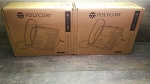 Lot Of 4 Polycom Cx600 2201 15942 001 Voip Phone For Microsoft Lync