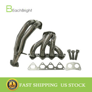 Stainless Steel Racing Manifold Header Exhaust Fit 94 01 Acura Integra Ls Gs Rs