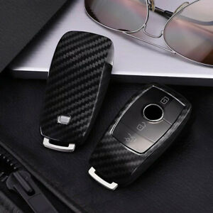 Car Remote Key Case Cover Shell Accessories For Mercedes Benz E S Class 2016 Up