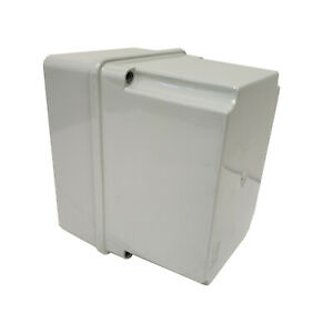 Junction Box By Tecnomatic 430c5 Plastic With Raised Cover 5 91 X 4 33 X 5 51