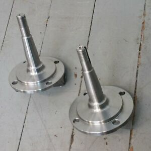 1928 1948 Ford Plain Cast Straight Axle Front End Spindles Nice Quality In Stock